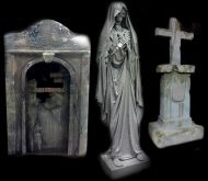 New Orleans Style Cemetery Props